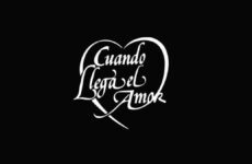 logo telenovela cuando llega el amor